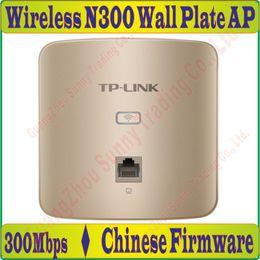 2019 modems lte 4g desbloqueados fino, 300Mbps em Wall Wireless AP para o projeto de Wi-Fi, AP interior 802.11b / g WiFi Access Point, POE Fonte de alimentação, 1 Portas * 100M RJ45 / n