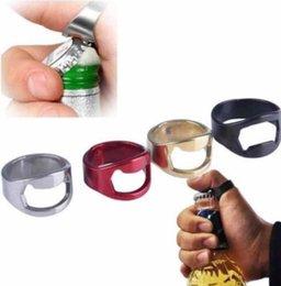 apri di bottiglia della birra dell'anello di barretta Sconti Apriscatole in acciaio inox Bottiglia di birra Anelli apribottiglie Bar Utensili da cucina Apriscatole 20mm LJJK1360