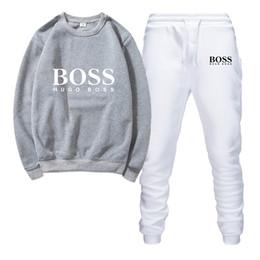 Novos fatos de treino de moda on-line-Impresso designer de treinoNew 2019 Marca Nova Moda Terno Homens Sportswear Impressão Homens Hoodies Pullover Hip Hop Dos Homens agasalhos de Pano