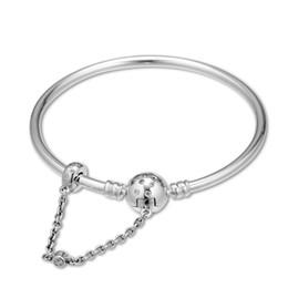 Joyería genuina pandora online-2019 de la madre Day925 plata esterlina joyería de plata edición limitada joyería genuina de la Singularidad brazalete adapta a Pandora pulsera para las mujeres