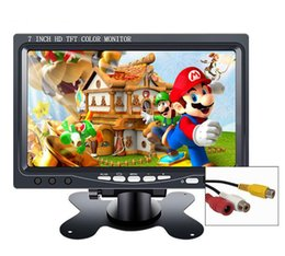 "desktop monitors Coupons - 7 inch mini portable hd lcd TFT CCTV security screen car monitor 10.1"" small game monitor pc for Windows 7 8 10 PS3 4 Xbox360"