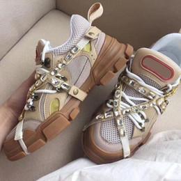 Marque baskets Designer baskets FlashTrek avec les femmes amovibles hommes trainer montagne Chaussures d escalade Chaussures Hommes randonnée en plein