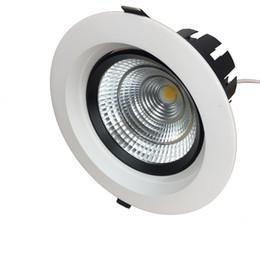 Argentina 25W 40 vatios COB redonda Led DALI Techo Downlight 0-10V 1-10V Regulable Empotrable Abajo Luminaria Suministro