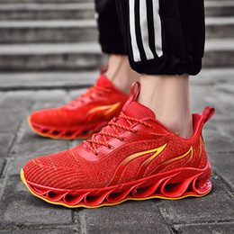 athletic shoe sells Coupons - New Selling Men's Outdoor Running Shoes Breathable Male Sneakers Adult Non-slip Comfortable Mesh Athletic Shoes 4 Colors