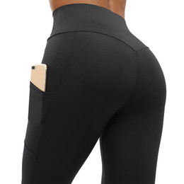 e695c1ed6bfd3 NORMOV Pocket Sport Leggings Yoga Pants Women High Waist Push Up Leggings  Sport Fitness Femme Running Fitness Clothing
