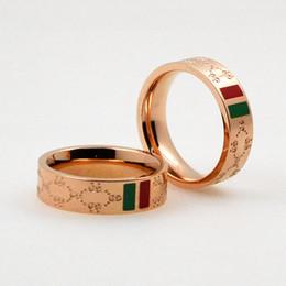Bande di fascino d'oro online-Anelli intagliati di lusso da donna Anelli a campana grandi da donna in oro rosa con anello di fidanzamento