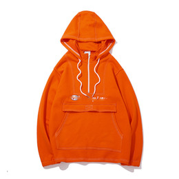Canada Nouvelle mode kangourou poche couleur unie grande taille couple modèles jeunes étudiant tendance pull à capuche vin rouge orange M ~ 2XL Offre