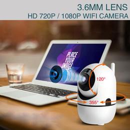 2019 ip hdd Telecamera IP wireless HD 1080P con telecamera IP intelligente Monitoraggio automatico della telecamera di sorveglianza di sicurezza domestica Wifi JLRL88 sconti ip hdd