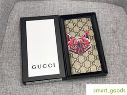 Cartões de crédito garantidos on-line-Designer de Zíper Longo Telefone de Luxo Cartão de Crédito Id Titular Da Garantia Da Bolsa Da Embreagem Carteira