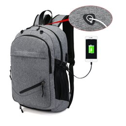 Bolsas para portátiles militares online-Hombres de la moda a prueba de agua de negocios de 15,6 pulgadas portátil mochila bagpack viajes escolares a los estudiantes militares bolsas mochila nueva