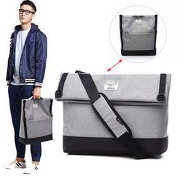 Tote cor-de-rosa dos sacos da marca on-line-Ombro TUGUAN Marca Designer Homens Impermeável Messenger Bags Moda Estilo coreano masculino Bolsas Cruz Body Bags para tamanho A4 Tote