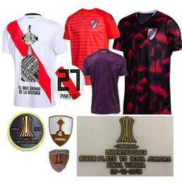 3d791eeb8ea 2019 River Plate third away Soccer Jerseys SCOCCO CASCO home MARTINEZ AWAY  RED PEREZ FERNANDEZ 18 19 FOOTBALL SHIRTS JERSEY MORA PRATTO