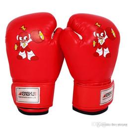 Guantoni da boxe per bambini Kick Boxing Wraps Training Fight Free Combattere Sandbag Guantoni da sacco Jeet Kune Muay Thai Guanti da allenamento 3-15T da i capretti muay thai guanti fornitori