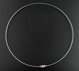 fermoir collier à vis Promotion DoreenBeads 2PCs gris 18