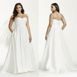 76b8158aa02 belles robes courtes Promotion Belle Simple Robes De Mariée De Taille Plus  De Taille Maternité Robes