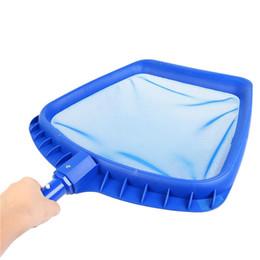 Spas jacuzzis online-Nueva alta calidad de alta resistencia de plástico marco de la hoja Skimmer piscina Spa Hot Tub Pond Clean Net para piscina Pond Hot Tub