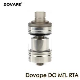 2019 zerstäuber kühl Dovape DO MTL RTA 2ml Behälter 22mm Cool Vape Atomizer Der ERSTE Licht-Lungen-Inhalator Kompatibel mit verschiedenen Stilen günstig zerstäuber kühl