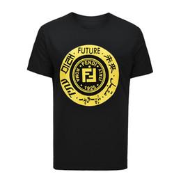 Ropa europea de alta calidad online-En 2018, la nueva línea de ropa de marca de lujo de la marca de moda para hombre de la camiseta europea de alta calidad, con la letra camiseta ajustada de ocio.29