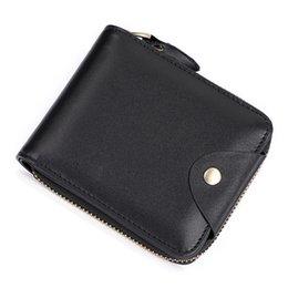 Classic Black Echtes Leder Kreditkarteninhaber Brieftasche Kartenetui für Mann Mode Dünne Geldbörse Tasche Brieftaschen Designer-Handtaschen von Fabrikanten