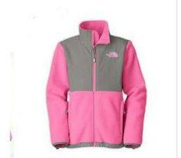 casacos longos de inverno da linha da princesa Desconto Hot Outdoor norte crianças fleece jaquetas de moda à prova de vento térmica para caminhadas Camping Ski rosto jaqueta XS-XXL