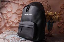 2019 heiße designer-rucksäcke Designer Rucksäcke Leder Rucksack Luxus Designer Rucksack Schwarz mit LetterB Qualität Heiße Ankunft Mode Stil Breite Strap Komfortable Neu rabatt heiße designer-rucksäcke