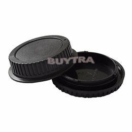 casquillos centrales a presión Rebajas Tapa del cuerpo de la cámara Tapa posterior de la lente para CANON EF Lente de la cámara Proteger Titulares Titular para la venta