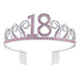 2019 kronen für bräute Braut Krone Beliebte Strass Hochwertige Krone Kopfschmuck Hochzeit Zubehör Tiara 18. Geburtstag Mitbringsel günstig kronen für bräute