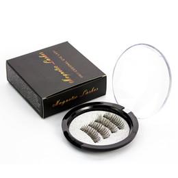 Extension de cils magnétiques naturels faux cils naturels aimants réutilisables maquillage de cils faux yeux magnétiques 3D faciles à porter 4pcs / Set RRA881 ? partir de fabricateur