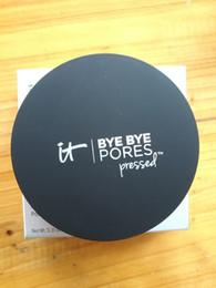 Melhores acabamentos on-line-2018 nova maquiagem Pressionado Pó Poros prensado Poreless Finish Airbrush Pó melhor qualidade Rosto em pó 1 pcs frete grátis