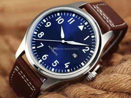 Reloj portugal online-Venta al por mayor de lujo para hombre reloj IW 327004 Portugal marca serie piloto pequeño príncipe mecánico automático reloj militar relojes de alta calidad