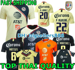 45cb2631292 Discount club america green jersey - Top Thai quality 19 20 black America  jersey soccer home