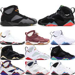 sale retailer 8f92e e0201 kardinäle schuhe Rabatt 2019 7 Männer Designer Basketball-Schuhe Hare  Bordeaux Bracelona Nights Cardinal Cigar