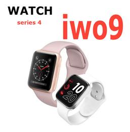 новые часы-шпионы Скидка Goophone IWO 9 Smart Watch Series 4 44-мм GPS-часы Спортивный монитор сердечного ритма SmartWatch для iOS iPhone Android Phone 7 8plus XS MAX