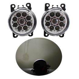 Opel astra führte licht online-2 stücke Auto Styling Runde Frontstoßstange LED Nebelscheinwerfer Tagfahrlicht Fahren Für OPEL ASTRA H GTC 2005 2006 2007 2008 2009 2010 2011-2015
