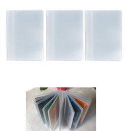 plastikhalter für kreditkarte Rabatt Designer-Kartenhalter Kunststoff Pvc Clear Pouch Name Id Kreditkarteninhaber Fall Veranstalter Keeper Pocket