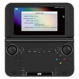 Ram spiele online-Gpd xd plus gamepad tablet pc mt8176 5 zoll 1280 x 720 handheld spiel pc 4 gb ram 32 gb ips h-press bildschirm für android / linux eu p