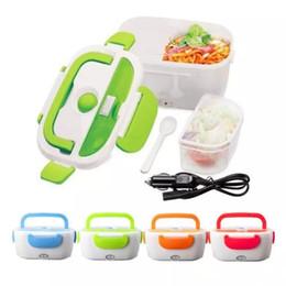 Коробка для завтрака согревает пищу онлайн-12 в портативный электрический подогреваемый автомобиль штекер отопление обед Бенто коробка риса контейнер офис домашнего питания теплее MMA1180