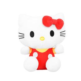 2019 ciao bambola di peluche del gattino 20cm-80cm cristallo di alta qualità super soft carino ciao gattino gatto peluche rosa blu KT gatto giocattolo per bambini ragazza regalo di compleanno sconti ciao bambola di peluche del gattino