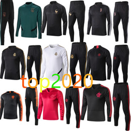 mens trainingsanzug Rabatt 2020 2020 france real madrid barcelona psg liverpool juventus ajax tracksuit football foot manchester city Trainingsanzug Fußball 19 20 Fußballsteckfassung