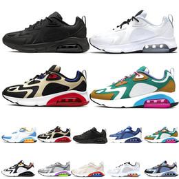 Bordo maxs 200 Erkek Koşu Ayakkabı Mistik Yeşil Beyaz Altın Çöl Kum 200 s Yastık Tasarımcı Sneakers Eğitmenler des chaussures Homme nereden