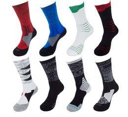 bio-box großhandel Rabatt 9705 New Elite Basketball Socken Schweiß absorbierende rutschfeste Handtuch Socken Herren Basketball Socken Sport Gezeiten Schlauch