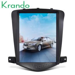 """Écran chevrolet cruze en Ligne-Krando Android 7.1 9.7 """"Système de radio audio gps audio voiture dvd écran vertical pour lecteur de navigation Chevrolet Cruze 2009-2014"""