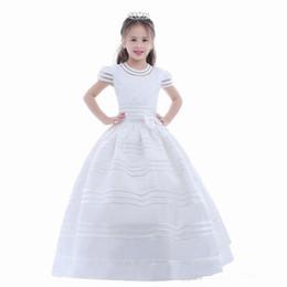 Princesse De Charme Pageant Fleur Fille Dress High Low Enfants De Noce Robes De Soirée De Robes Enfants Robe SMT95 ? partir de fabricateur