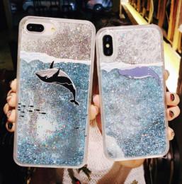 pannello tastiera Sconti 2019 vendita calda di modo classico morbido phone case per dinamico liquido glitter Quicksand indietro per iphone x 7/8 plus 6 s / 6