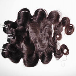 2019 longitud de la mezcla de pelo virgen indio Indian Virgin Hair Top 8A Body Wave longitudes mixtas 3pcs / lot Cabello humano sin procesar Color natural longitud de la mezcla de pelo virgen indio baratos