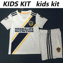 uniformes de la marina blanca Rebajas MLS 2019 Los Angeles Galaxy, camiseta blanca de fútbol de Los Angeles Galaxy LA GALAXY, camiseta de fútbol azul marino personalizada, uniforme de fútbol IBRAHIMOVIC para hombre