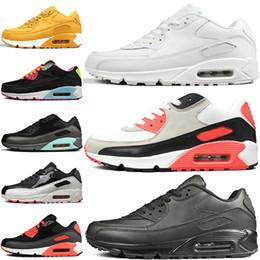nike air max 90 90s airmax VM Chaussures Noir Argent Gris Bleu Encre à jet d'encre mens formateurs Rose jaune OG luxe femmes chaussures Gym designer baskets 36-45 ? partir de fabricateur