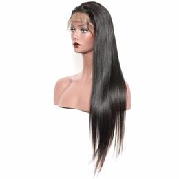Canada Perruque de cheveux humains avec des cheveux de bébé fermeture de lacet perruque de fermeture pour les femmes noires cheap indian remy lace Offre