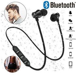 XT11 Auriculares inalámbricos con Bluetooth Deportes In-Ear BT 4.2 Auriculares estéreo Auriculares magnéticos Auriculares con micrófono Para iPhone X 8 Samsung Con paquete desde fabricantes