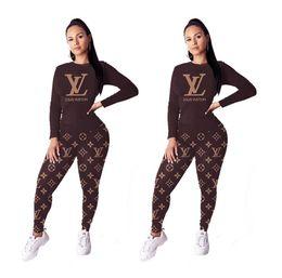 conjuntos de roupas curtas para mulheres Desconto nova moda da camisa T desportivo nacional de impressão de manga curta mulheres tracksuits lápis calças compridas duas peças conjuntos de roupa terno Sports S-3XL